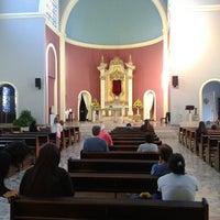 Photo taken at Templo Votivo do Santíssimo Sacramento by Luiz O. on 9/9/2014