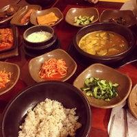 Photo taken at 시골밥상 by EliNa H. on 1/7/2014