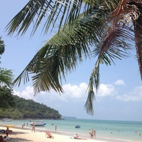 Photo taken at Sai Keaw Beach by La on 3/12/2013