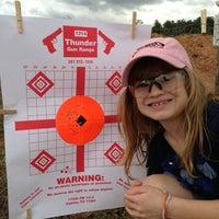 Photo taken at Thunder Gun Range by Jody D. on 1/27/2013