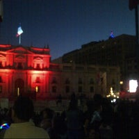 Photo taken at Santiago a Mil (Plaza de La Constitución) by Harold M. on 1/6/2013