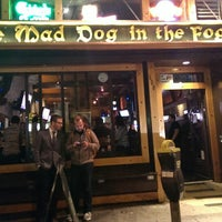 Photo taken at Mad Dog in the Fog by Zignat A. on 8/23/2013