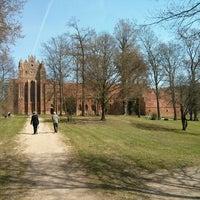 Photo taken at Zisterzienserkloster Chorin by Ralph on 4/21/2013