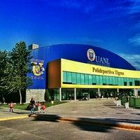 Photo taken at Polideportivo Tigres UANL by Rodolfo S. on 4/30/2016
