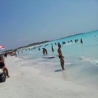 Photo taken at Spiagge Bianche by Rafael Alberto P. on 8/5/2012