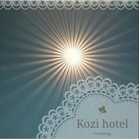 Photo taken at Kozi Hotels by Gloria L. on 9/18/2014