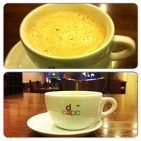 Photo taken at Casa Mia Café by Sreevatsan A. on 1/9/2013