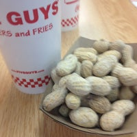 Photo taken at Five Guys by Max S. on 2/25/2013