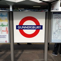 Photo taken at Gunnersbury London Underground and London Overground Station by Ben W. on 3/21/2013