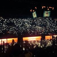 Photo taken at Abdi İpekçi Arena by Ümit A. on 10/24/2013