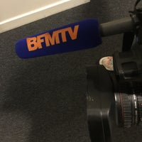 Photo taken at BFM TV by Frederic F. on 1/29/2016