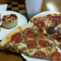 Photo taken at Tonys new york pizza by Andrew N. on 12/30/2013