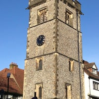 Photo taken at St Albans Clock Tower by Manco C. on 12/16/2012