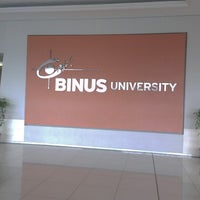 Photo taken at BINUS University by Fictor A. on 2/14/2013