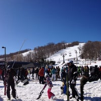 Photo taken at Blue Mountain Resort by Fariba R. on 3/29/2013