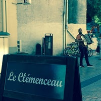 Photo taken at Le Clemenceau by Diane G. on 9/23/2015