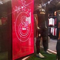 Photo taken at Galatasaray Store by Aşkın E. . on 1/29/2016