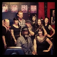Photo taken at Zulu Tattoo by Misha N. on 9/5/2014