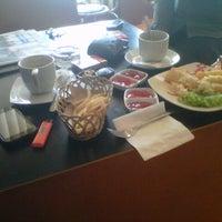 Photo taken at I-cos Coffee Shop by Zea Algabili on 6/20/2013