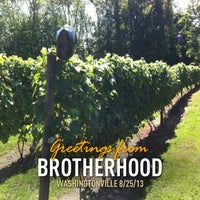 Photo taken at Brotherhood, America's Oldest Winery by Michael T. on 8/25/2013