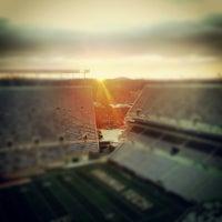 Photo taken at Lane Stadium/Worsham Field by Kevin H. on 11/24/2012