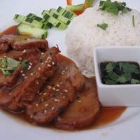 Photo taken at Chaba Thai Cuisine by Chaba Thai Cuisine on 10/7/2013