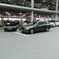 Photo taken at Mercedes-Benz Niederlassung München by Mehmet A. on 5/24/2014