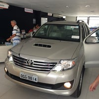 Photo taken at Carvalho & Filhos (Toyota) by Rafael A. on 4/26/2014