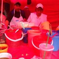 Photo taken at Mercado sobre ruedas, fresnos (jueves) by Daniel T. on 11/7/2013