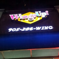 Photo taken at Wings Up! by Nigel D. on 11/30/2013
