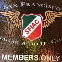 Photo taken at San Francisco Italian Athletic Club by Kenley G. on 5/20/2016