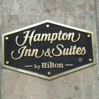 Photo taken at Hampton Inn & Suites by BestDay.Com.Mx on 4/23/2012
