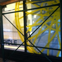 Photo taken at SoulCycle NoHo by caroline c. on 1/4/2013