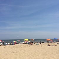 Photo taken at 22nd Street Beach by Bobby H. on 7/7/2014