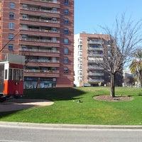 Photo taken at Plaça de Granollers by Jordi P. on 2/4/2014