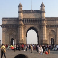 Photo taken at Gateway of India by Alexandra N. on 11/3/2012