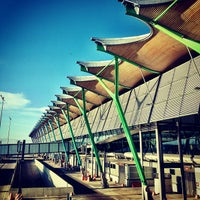 Photo taken at Adolfo Suárez Madrid-Barajas Airport (MAD) by Rory C. on 4/22/2013
