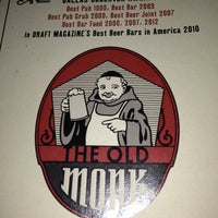 Photo taken at The Old Monk by Brian P. on 1/19/2013