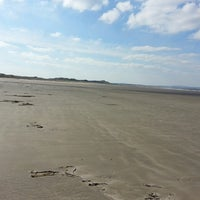 Photo taken at Enniscrone Beach by Brian H. on 3/31/2013