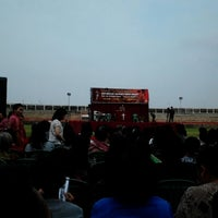 Photo taken at Stadion Kota Batik by adhi 闻. on 2/12/2014
