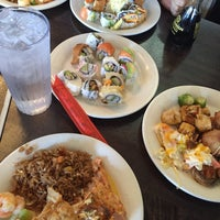 Photo taken at Mr. Hibachi Buffet by Najwa A. on 2/26/2016