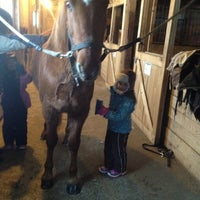 Photo taken at Wilsher Stable by Jennifer B. on 1/8/2013