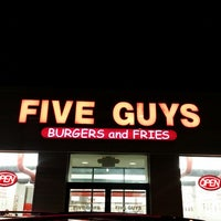 Photo taken at Five Guys by LORENZO A. on 4/10/2014