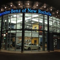 Photo taken at Mercedes-Benz of New Rochelle by Pav N. on 1/9/2014