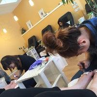 Photo taken at Sensi Luxury Nails & Spa by Courtney J. on 10/16/2015