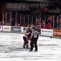 Photo taken at Syracuse Crunch Hockey Club by Jaime B. on 10/27/2013