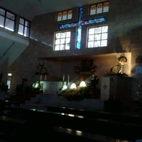 Photo taken at Gereja Katolik Salib Suci by Marta W. on 4/4/2015