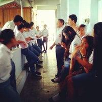 Photo taken at SMA Negeri 1 Manado by Tierza S. on 6/16/2014
