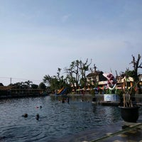 Photo taken at Umbul Ponggok by RIBKAH C. on 4/30/2016