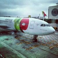 Photo taken at Lisbon Humberto Delgado Airport (LIS) by Kaysha on 7/11/2013